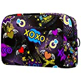 Bolso cosmético portátil del almacenamiento del bolso multifuncional de la señora del bolso cosmético del viaje