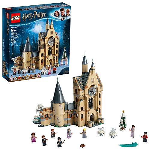LEGO Harry Potter Hogwarts Clock Tower 75948 Build and Play Tower Set with Harry Potter Minifigures, Popular Harry Potter Gift and Playset with Ron Weasley, Hermione Granger and more (922 Pieces)