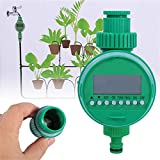 Temporizzatore per Irrigatore, MKNZOME Timer Irrigazione Automatico Digitale Centralina Irrigazione, modalità Programmabile Filetto 3/4' Alimentato a Batteria, per Giardino Pianta Balcone#3
