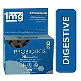 1MG Probiotics 25 Billions CFU 14 Probiotic Strains 500 mg - 60 capsules