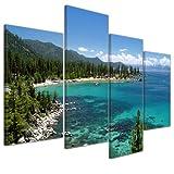 Wandbild - Lake Tahoe - Nevada USA - Bild auf Leinwand