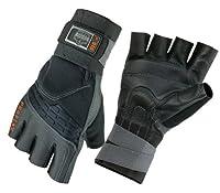 Ergodyne ProFlex Impact Glove with Wrist Support, Black