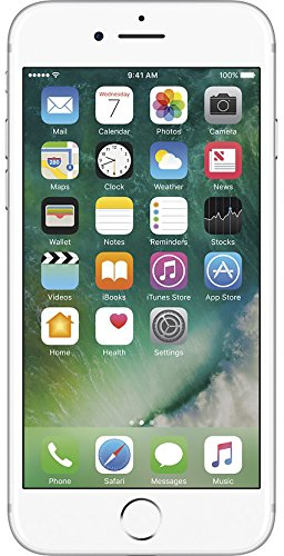 Apple iPhone 7, 128GB Silver - For AT&T (Renewed)
