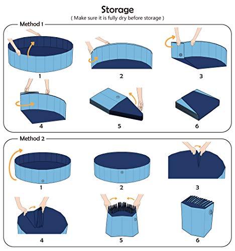 Product Image 4: Jasonwell Foldable Dog Pet Bath Pool