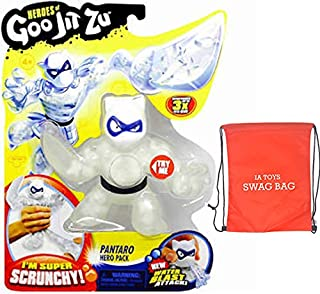 IP Heroes of Goo JIT Zu Pantaro The Scrunchy Panther Series 2 Action Figure and Exclusive Swag Bag Filled with Extra Toys for Boys Girls Playtime and Family Fun!