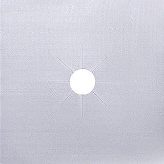JIAYAN Papier d'aluminium Plaque de Cuisson à gaz Protecteur d'huile Douille réutilisable Poêle Propre Tapis Pad Four Prot...