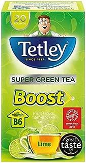 Tetley Super Green Tea Boost Lime - 20 per pack