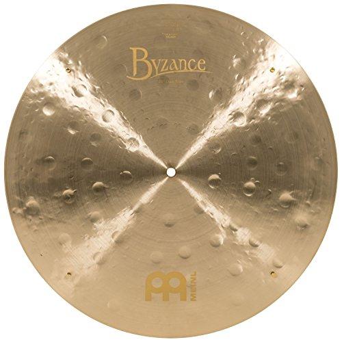 Meinl Cymbals B20JCR Byzance 20-Inch Jazz Club Flat Ride Cymbal with Rivets (VIDEO)