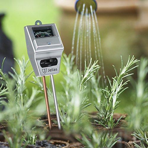 Jellas 3-in-1 Soil Moisture Meter
