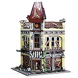 LINANNAN Set de Edificios modulares 2193 + PCS Moc Ruinas de los Bloques de construcción de Teatro Set Compatible con