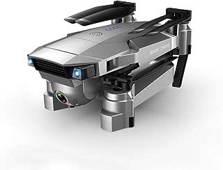 ACHICOO ドローン 折りたたみ式 SG907 GPS搭載 カメラ付き 5G Wifi RCクワッドコプター オプティカルフロー ミニ GPSリターン ジェスチャー制御 スマートIPPフォロー ウェイポイントフライト フォローミーモード 収納袋付き 4K 3バッテリー
