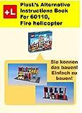 PlusL remake Anweisungen fur LEGO 60110 ,Café (2): Sie konnen die Café (2) aus Ihren eigenen Steinen zu bauen! (German Edition)