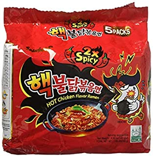 hot korean noodles challenge
