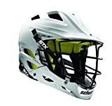 STX Lacrosse Stallion 100 Youth Lacrosse Helmet Medium/Large White, Youth Medium/Large