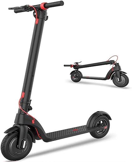 Patinete Eléctrico Scooter Plegable, Velocidad 32 Km/h, E ...