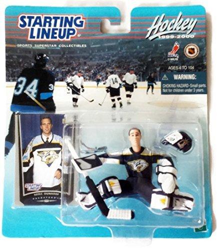 Starting Lineup Sports Superstar Collectibles - Hockey 1999-2000 Mike Dunham Predators Goalie