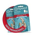 COMPEED Ampollas Surtido, 5 Apósitos Hidrocoloides - Pack de 2 (Total 10), Cuidado de Pies, Cura más rápido.