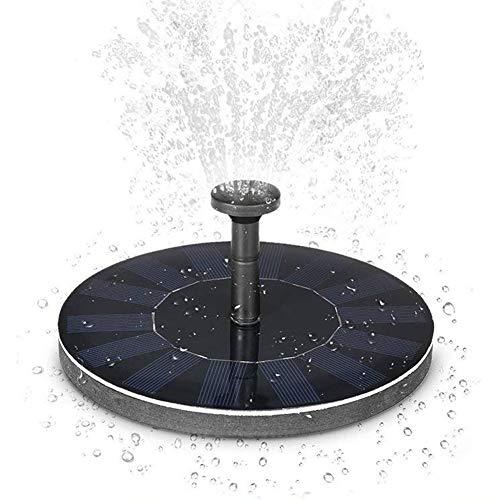Solar Pumpe Springbrunnen Brushless Pump Plants Gießkit Set mit 1.4W Monokristallinem Solarmodul für Vogelbad Gartenteich Energieeinsparung Umweltfreundlich Universal etc
