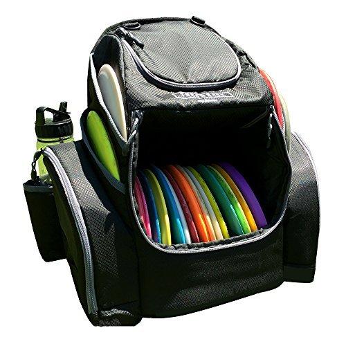 The Throwback Pack 2.0 – Disc Golf Rucksack mit Dual-Kühlern – Frisbee Disc Golf Tasche für 20-25 Discs