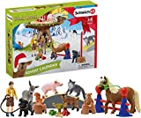 Schleich 98063 Play Set - Calendario de Adviento Farm World 2020 (Farm World)