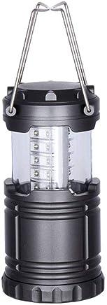 ZR 30LED Stretch tragbare Camping licht Outdoor Notfall licht super helle Camping Zelt licht automatische Pull Camping licht DREI AA, schwarz B07Q372BPP     | Geeignet für Farbe