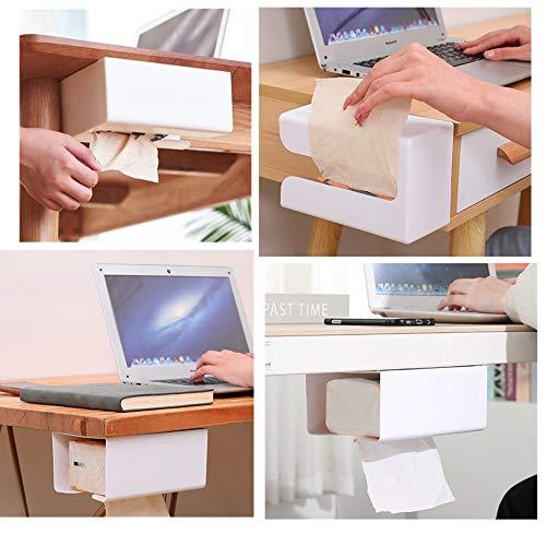 UOUOティッシュケース 壁掛け おしゃれ ティッシュボックス キッチン収納 多用途 ティッシュホルダー 壁付け ティッシュカバー 多機能 壁に付けられる 便利グッズ (グレー)