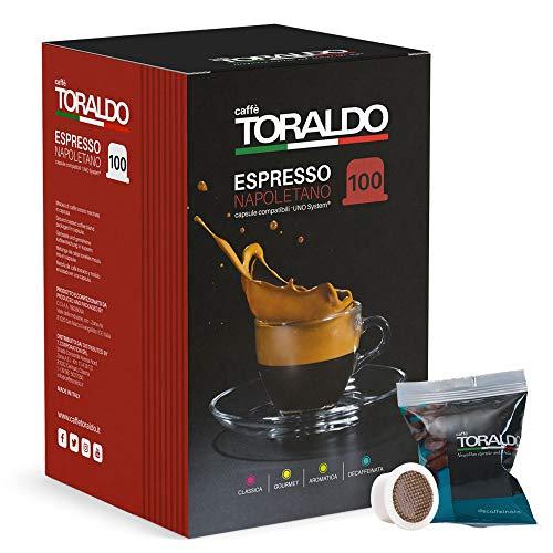 Caffè Toraldo Miscela Decaffeinata Capsule compatibili UNO System 100 pz / 700 g