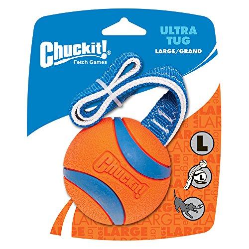 Chuckit! Ultra Tug Hundespielzeug, großer Ball, 7,3 cm