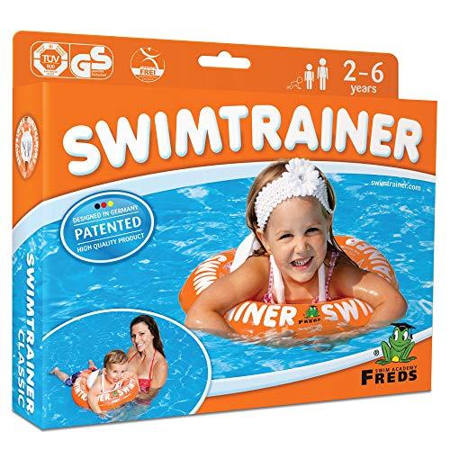 Fred Swim Academy Zapatillas de natación clásicas, naranja, talla única, 500 g