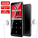 16GB Lettore MP3, Bluetooth con Radio FM/Registratore Vocale/Foto/E-book, Mibao MP3 Player...