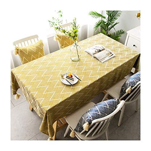 Tafelkleed, driehoekig, dik, gegolfd, voor banket, hotel, rechthoekig, bommel, salontafel