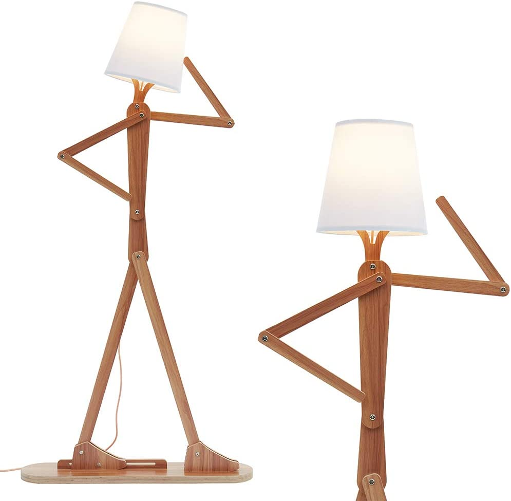 Wood lamp-exceptional natural light floor lamp