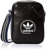 adidas Umhängetasche Perforated Mini Tasche, Black/White, 20 x 15 x 6 cm