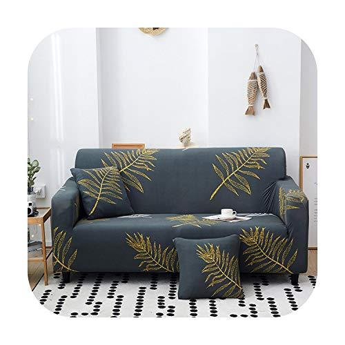 Funda de sofá de ángulo D extensible universal moderna elástica para sala de estar sofá maleta capa para hogar-Desgin 4-190-230cm