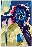 ZRRTTG GemäLde Auf Leinwand James Brown Legenden-Superstar