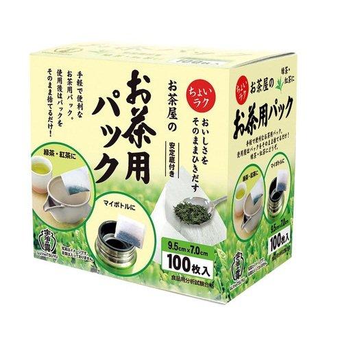 宇治の露製茶 宇治の露 お茶屋のお茶用パック 100枚入×3