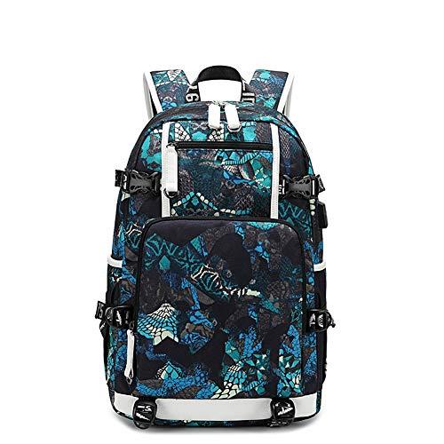 Homieco Unisex schoolrugzak rugzak, school laptop backpack voor meisjes, unisex zeildoek, dagrugzak, vrijetijdsrugzak, boekentas, tieneragers, reizen, schooltas