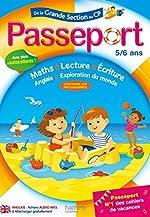 Passeport De la GS au CP- Cahier de vacances de Marie-Christine Exbrayat