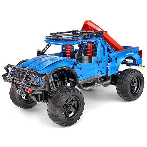 Opgewaardeerd Off-Road Voertuig Bouwsteen Kit- DIY Modelauto Racen, STEM Educatief Constructie Leren Speelgoed Geschenken Voor Leeftijd 8+ Jongens Meisjes Kinderen Volwassenen