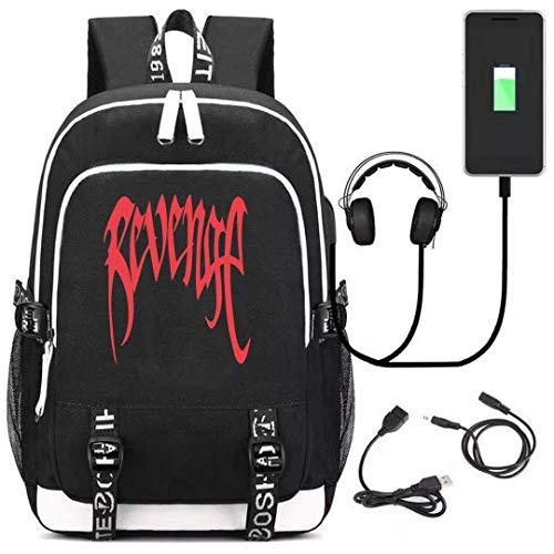 Xxxtentacion Oxford Travel Backpack Shoulder Bags
