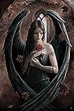 1art1 Gothic - Engel Mit Rose, Anne Stokes Poster 91 x 61