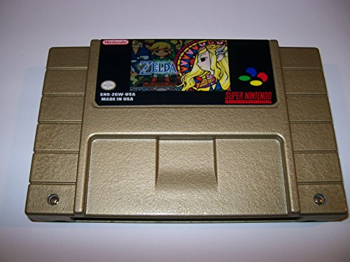Snes Legend Of Zelda - Goddess Of Wisdom Special Gold Edition For The Super Nintendo Entertainment System - Fan Game