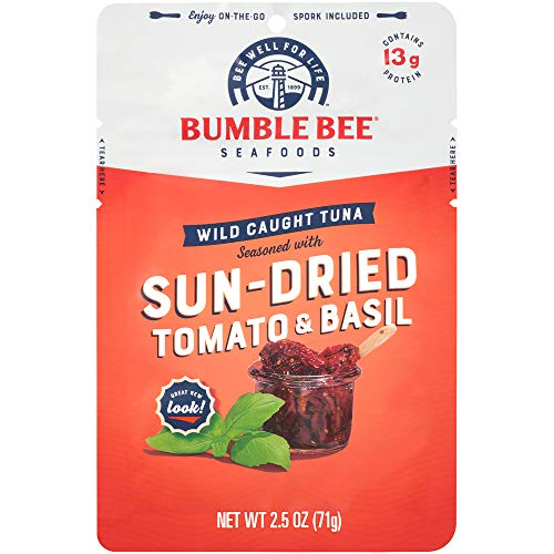 Bumble Bee Tomato & Basil Seasoned Tuna Pouch with Spoon 12-Pack Now $10.28