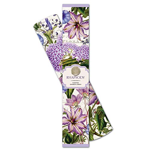 Michel Design Works Scented Drawer Liners, Rhapsody