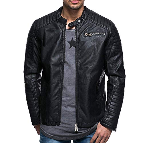 Express Leather Jackets Men's