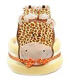 Jirafa Safari tema Unisex Bebé Ducha amarillo–tarta de pañales regalo...