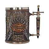 GAME OF THRONES IRON THRONE TANKARD 14CM