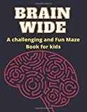 Brain wide a challenging and fun maze book for kids: Mindful Mazes for kids