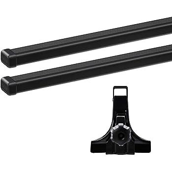 THULE(スーリー) ハイエース・レジアスエース専用ベースキャリアセット(フット951+スクエアバー7125) ロングボディー標準ルーフ H16/8~ KDH200/201/205/206V/TRH200V