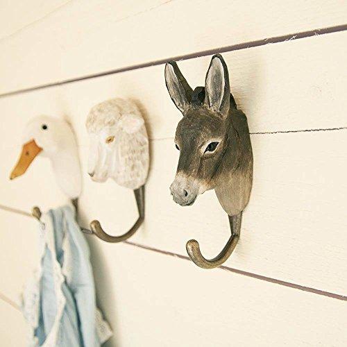 Wildlife Garden - Kleiderhaken - DecoHook - Esel